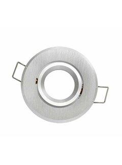 GU11/MR11 - Diameter 35mm Indbygningsspot Aluminium rund Justerbar IP20 Indvendig mål 60mm Ydre mål 70mm
