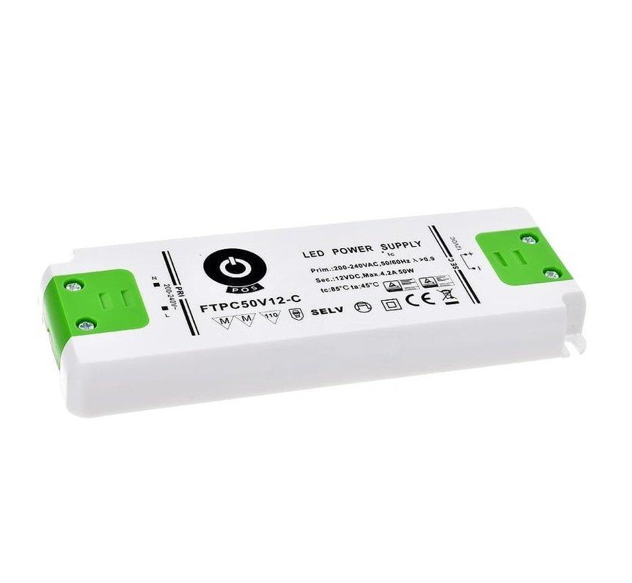LED strømadapter dæmpbar - 12V 30W 2,5A - passer til 12V LED-lamper