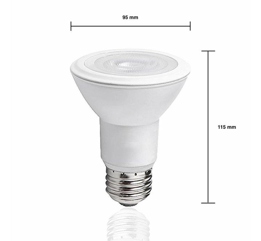 LED pære - E27 PAR30 - 12W erstatter 90W - 3000K varmt hvidt lys