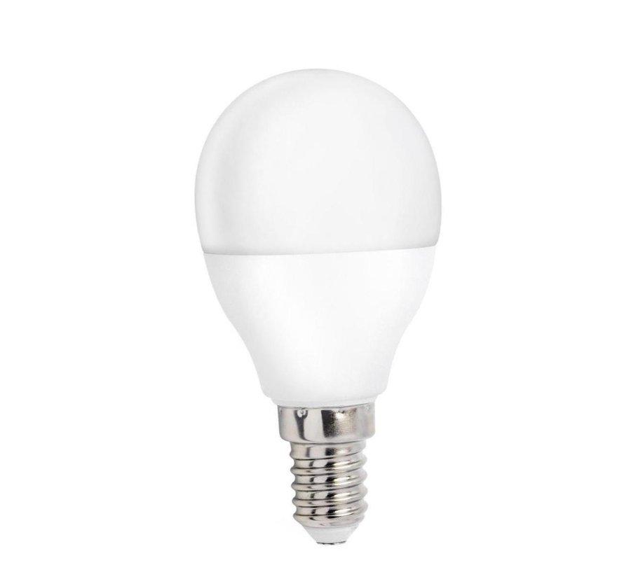 LED pære - E14-fatning - 8W erstatter 50-60W - Varmt hvidt lys 3000K