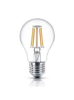 LED glødelampe Dæmpbar - E27 A60 - 8W erstatter 80W - 2700K varmt hvidt lys