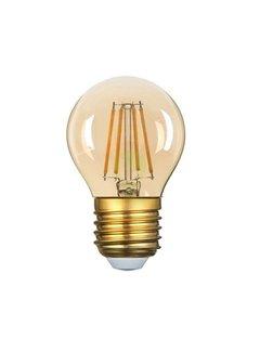 LED glødelampe dæmpbar E27 G45 - 5W erstatter 40W - 2200K ekstra varmt hvidt lys