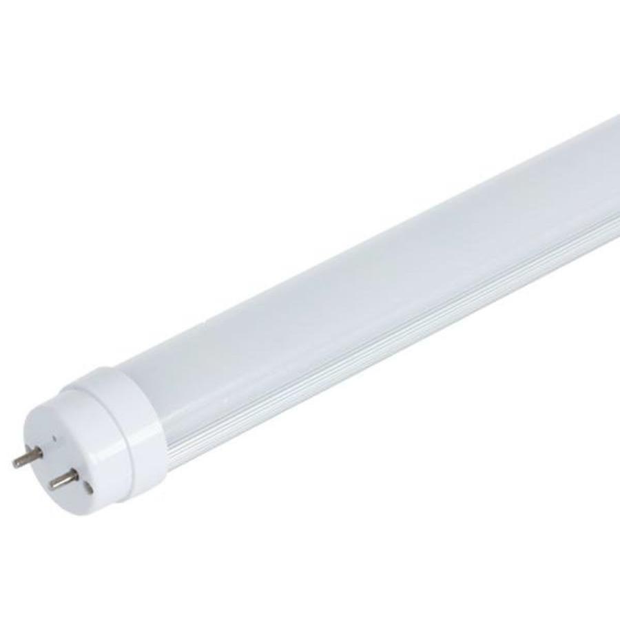 LED Lysstofrør T8 6000K Naturlig Hvid 120 cm 18W erstatter 36W rør