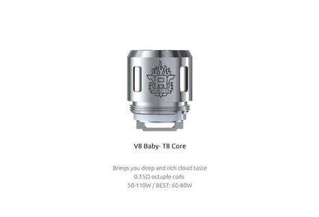 Smok SMOK TFV8 V8 Baby-T8 Octuple 0.15 Ohm Verdampferkopf