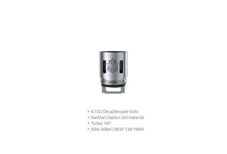 Smok SMOK TFV8 V8-T10 Decuple 0.12 Ohm Verdampferkopf