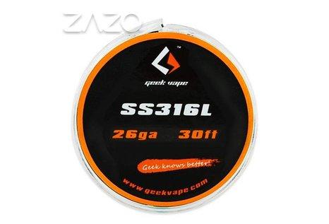 GeekVape GeekVape 10 Meter DIY SS316L Wire 26GA (0.40 mm) ZS02 Wickeldraht
