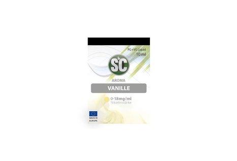 SC Vanille  Liquid von SC - Fertig Liquid für die elektrische Zigarette