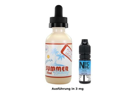 Dinner Lady Summer Holidays: Flip Flop Lychee Liquid von Dinner Lady - Fertig Liquid für die elektrische Zigarette