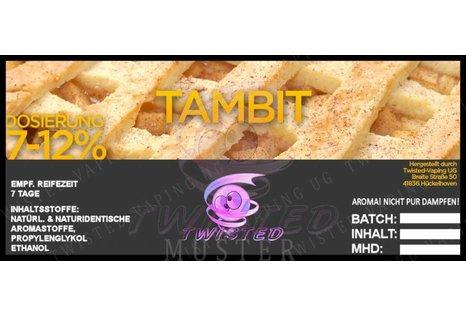 Twisted Vaping Tambit Aroma von Twisted Vaping - Aroma zum Liquid Mischen mit einer Base