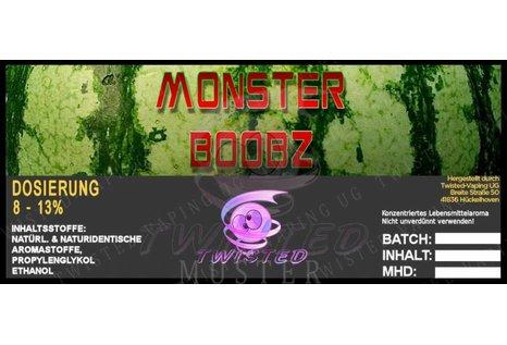 Twisted Vaping Monster Boobz Aroma von Twisted Vaping - Aroma zum Liquid Mischen mit einer Base