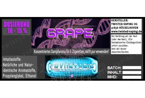 Twisted Vaping Cryostasis Aroma Grape von Twisted Vaping - Aroma zum Liquid Mischen mit einer Base