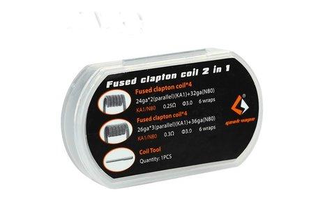GeekVape 8 Fused Clapton Coil 2 in 1 von GeekVape