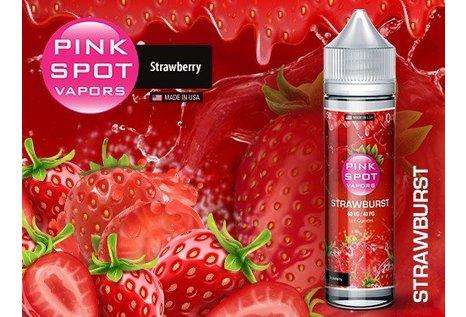 Pink Spot Vapors Strawburst Liquid von Pink Spot Vapors - Fertig Liquid für die elektrische Zigarette
