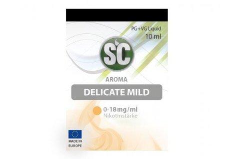 SC Delicate Mild Tabak Liquid von SC - Fertig Liquid für die elektrische Zigarette