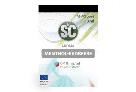 SC Menthol - Fertig Liquid für die elektrische Zigarette