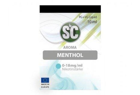 SC Menthol Liquid von SC - Fertig Liquid für die elektrische Zigarette