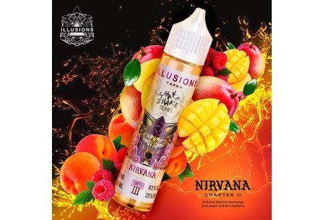 Illusions Vapor Nirvana - Fertig Liquid für die elektrische Zigarette