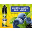 SC Short-Fills Heidelbeere - Blaubeere - Cassis - Menthol Shortfill