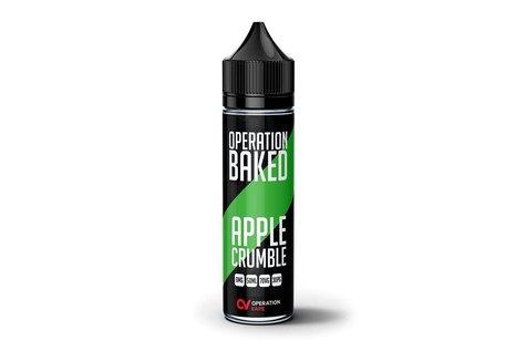 Operation Baked Apple Crumble Liquid von Operation Baked - Fertig Liquid für die elektrische Zigarette