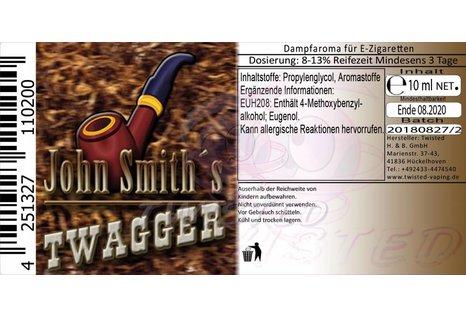 Twisted Vaping John Smith's Blended Tobacco Flavor Twagger Aroma von Twisted Vaping - Aroma zum Liquid Mischen mit einer Base
