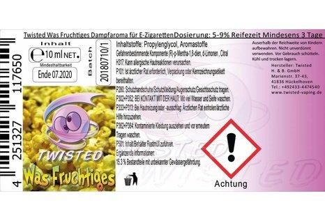 Twisted Vaping Was Fruchtiges Aroma von Twisted Vaping - Aroma zum Liquid Mischen mit einer Base