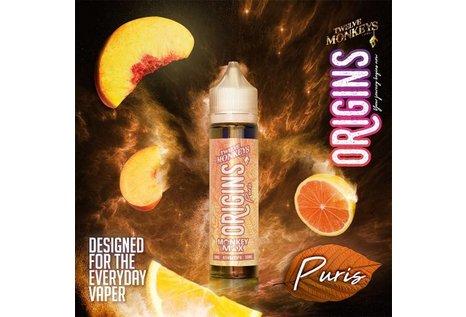 Twelve Monkeys Puris - Fertig Liquid für die elektrische Zigarette