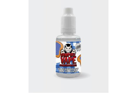 Vampire Vape Blackcurrant Jam on Toast Aroma von Vampire Vape - Aroma zum Liquid Mischen mit einer Base