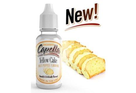 Capella Flavors Yellow Cake Aroma von Capella Flavors - Aroma zum Liquid Mischen mit einer Base