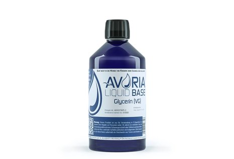 Avoria Deutsche Liquid Base (VG), 500 ml nikotinfrei. von Avoria