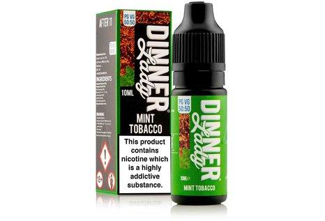 Dinner Lady Mint Tobacco Liquid von Dinner Lady - Fertig Liquid für die elektrische Zigarette