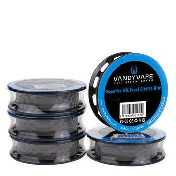 Vandy Vape Vandy Vape Ni80 Superfine MTL Fused Clapton, 3,0 Meter Wickeldraht - W6