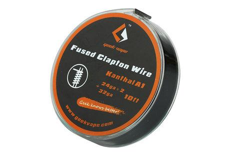 GeekVape Geek Vape Fused Clapton Wire KA1, 3 m (ZK09) Wickeldraht von GeekVape
