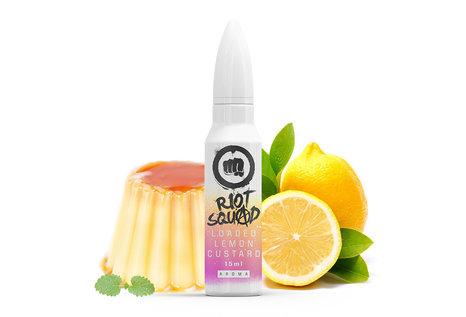 Riot Squad Loaded Lemon Custard Aroma von Riot Squad - Aroma zum Liquid Mischen mit einer Base