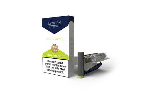 Lynden Green Apple Liquid - Fertig Liquid für die elektrische Zigarette