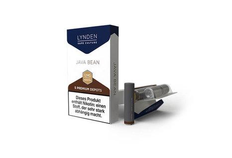 Lynden Java Bean Liquid Depots von Lynden - Fertig Liquid für die elektrische Zigarette