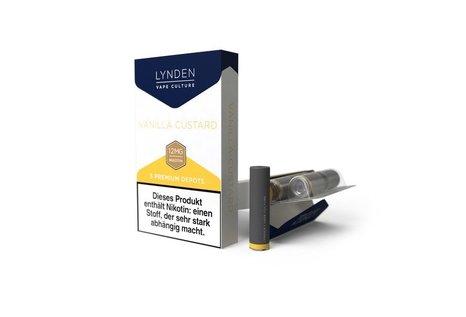 Lynden Vanilla Custard Liquid - Fertig Liquid für die elektrische Zigarette