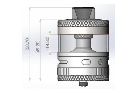 Steam Crave Titan RDTA Clearomizer von Steam Crave