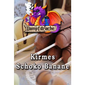 Dampfdrache Kirmes Schokobanane