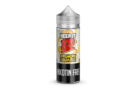 Keep it 100 Krunchy Squares Liquid von Keep it 100 - Fertig Liquid für die elektrische Zigarette
