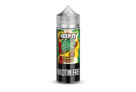 Keep it 100 Peachy Punch Liquid von Keep it 100 - Fertig Liquid für die elektrische Zigarette