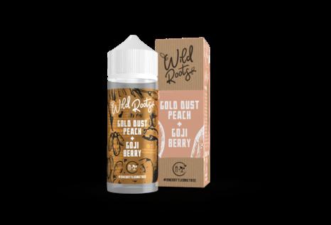 Wild Roots Gold Dust Peach Liquid von Wild Roots - Fertig Liquid für die elektrische Zigarette