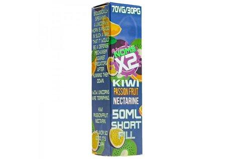 Nomenon E-Liquids X2 Kiwi Passion Fruit Nectarine Liquid von Nomenon E - Fertig Liquid für die elektrische Zigarette