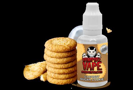 Vampire Vape Coconut Sugar Cookie Aroma von Vampire Vape - Aroma zum Liquid Mischen mit einer Base