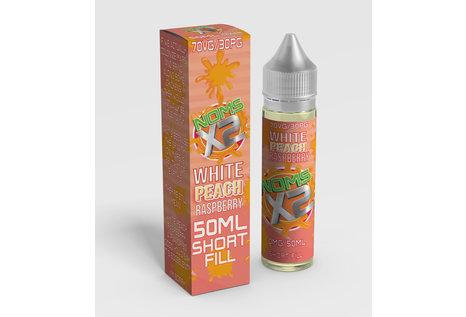 Nomenon E-Liquids X2 White Peach Raspberry Liquid von Nomenon E - Fertig Liquid für die elektrische Zigarette
