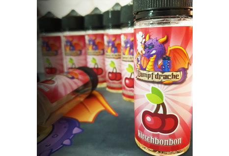 Dampfdrache Kirschbonbon (120 ml-Flasche) Aroma von Dampfdrache - Aroma zum Liquid Mischen mit einer Base