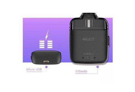Uwell Amulet Pod Kit E-Zigarette Komplettset von Uwell