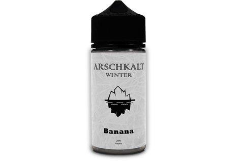 Arschkalt by AOS Winter Banana Aroma von Arschkalt by AOS - Aroma zum Liquid Mischen mit einer Base