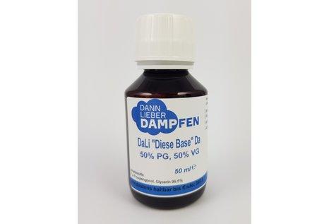 """Dann-Lieber-Dampfen DaLi """"Diese Base"""" Da - (PG/VG 50:50), 50 ml nikotinfrei von Dann-Lieber-Dampfen"""