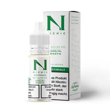 NicNic Nikotinsalz-Shot 50/50 mit 20 mg 10 ml