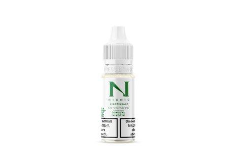 NicNic Nikotinsalz-Shot 50/50 mit 20 mg 10 ml Base von NicNic